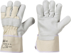 "Working gloves ""J-Natur"", leather"