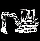 Mini excavators and accessories