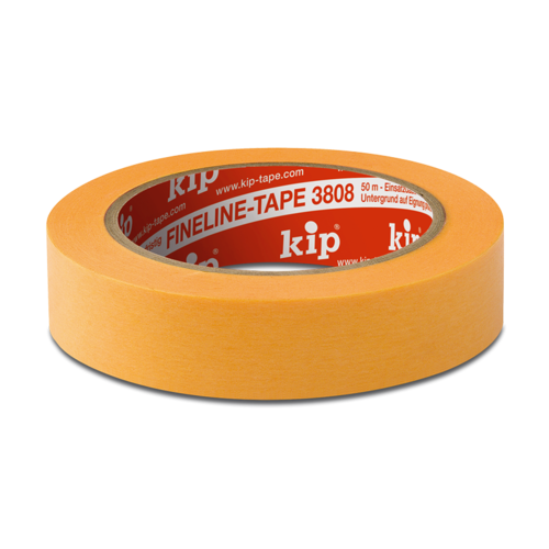 KIP 3808 FineLine Tape WASHI-TEC® Premium - yellow
