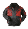 NORWAY two-coloured pilot-jacket LEVANGER black-red