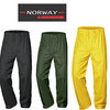 classic NORWAY PU waistband trousers