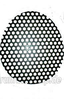 Emulsifier perforated plate (large holes)