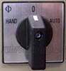 Hand-O-automatic switch 400V