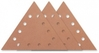 Velcro abrasive paper Select, triangular 290 mm