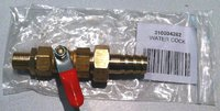 "Water tap brass with 1/2"" ext. thread"