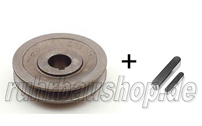 Engine pulley + key