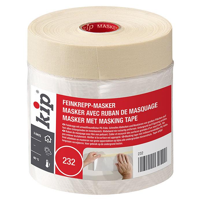 54/550/mm x 33/m Natur Kip Masker avec ruban de masquage 232