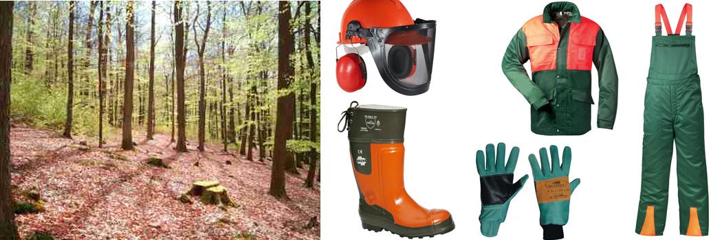 Forstschutzbekleidung for Equipo de jardineria