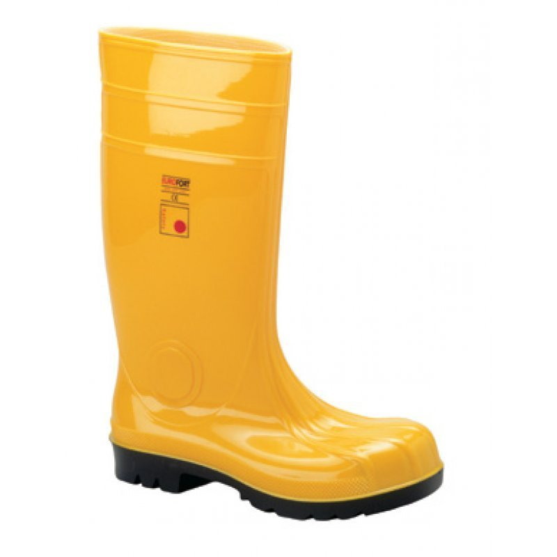 Safety boots EN 345 S5 yellow