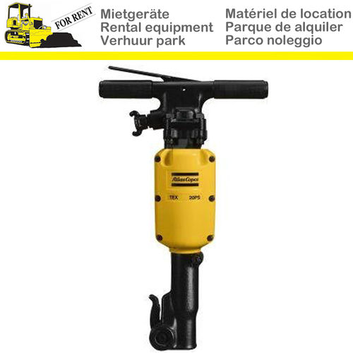 Rent a jackhammer up to 21 kg ATLAS TEX 20