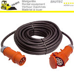 Rent 25 m protective contact cable CEE 16A