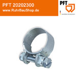 Hose clip 25er with screw [PFT 20202300]