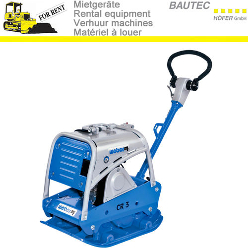 Rent middle Reversible soil compactor CR 3