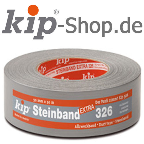 KIP 326 Duct tape extra – professional-plus grade