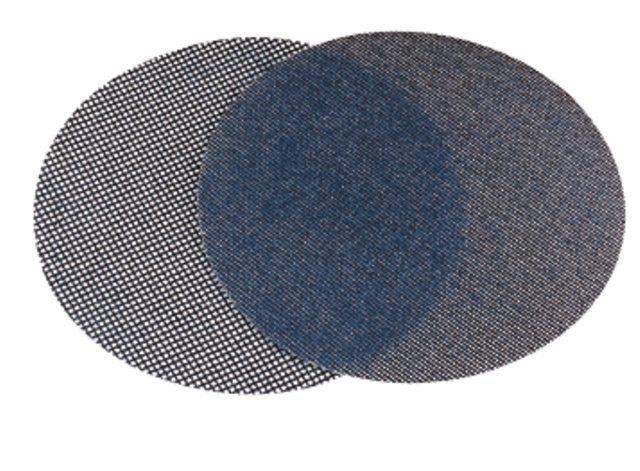 Rejilla de lijado de velcro 225 con velcro 10 unidades lijadora de construcci/ón en seco y lijadora para lijadora de techo grano 24 di/ámetro 225 mm