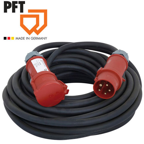 Power cable RED 5-32A 5x4 mm²