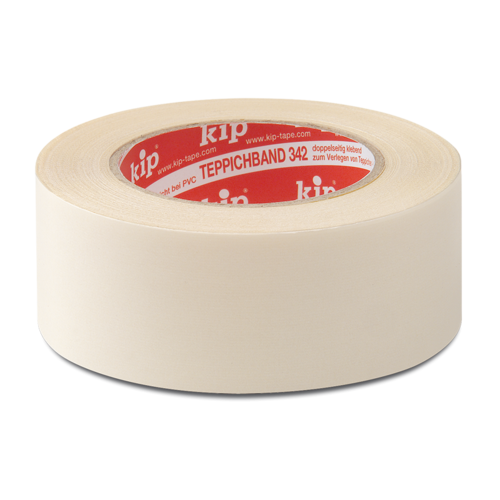 KIP 342 Cloth carpet tape Premium - white