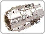 "Coupling 25 female 1"" int. thread Alu turnable"