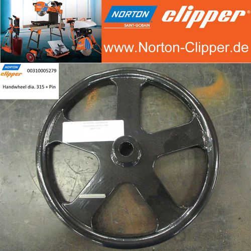 Handwheel  Ø 315 mm for JUMBO 900/1000