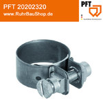 Hose clip 50 with screw [PFT 20202320]
