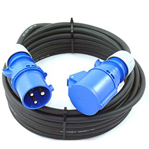 Power cable BLU 3-32A 3x4 mm² - 25 m