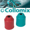 Protective sleeves for HEXAFIX® coupling turquoise + red