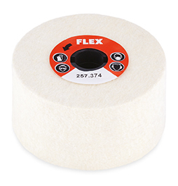 Polishing fleece, 100 Ø x 50 [FLEX 257.374]