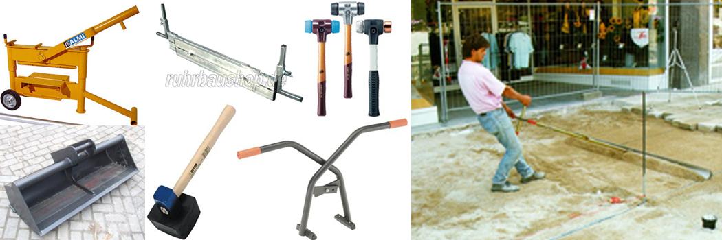 Werkzeug pflastern